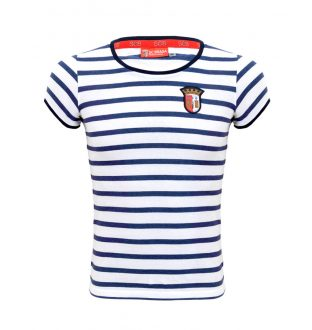 Striped Front Woman Shirt