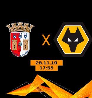 SC Braga x Wolverhampton Wanderers FC