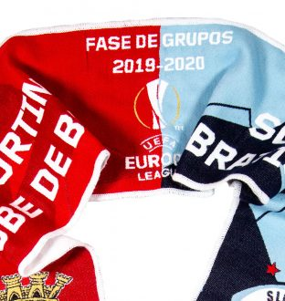 SC Braga x SK Slovan Bratislava Scarf