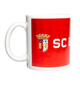 Caneca SC Braga Vermelha