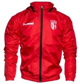 Windbreaker Red Jacket