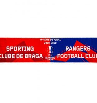 SC Braga x Rangers FC Scarf