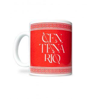 Caneca Centenário Vermelha