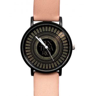 Relógio Centenário Logo Preto