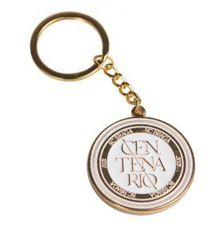 Centenary Golden Keychain